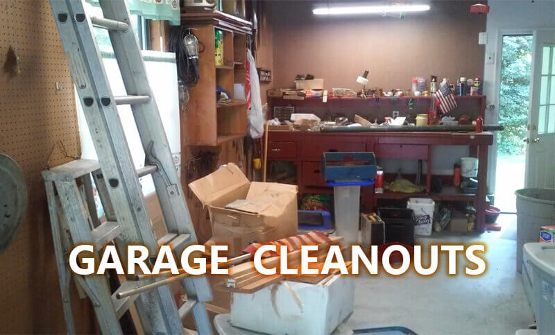 Garage Cleanout Services (Before)