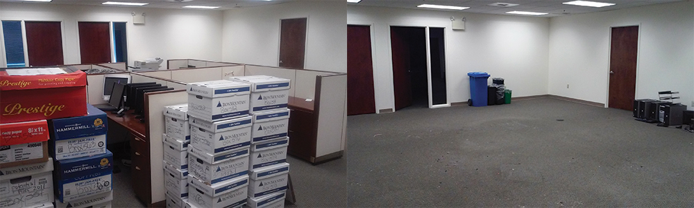 Office Clean Outs New Jersey & Florida